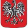 Poland coat of arms — Stock Vector