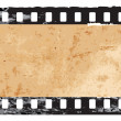 Grunge filmstrip frame — Stock Vector