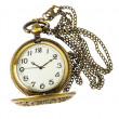 Stock Photo: Golden pocket watch