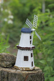 Miniature windmill — Stock Photo