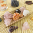 Gemstone for water revitalization - Stock Photo