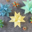 Folded stars — Stock Photo