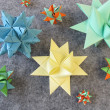 Stock Photo: Folded stars