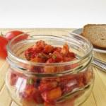 Homemade sausage salad — Stock Photo #31240487