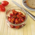 Homemade sausage salad — Stock Photo #31240527
