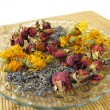 Stock Photo: Flowers potpourri