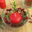 Making candles decoration — Stok fotoğraf