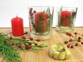 Making candles decoration — Stock Photo