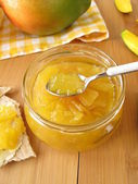 Mango jam — Stock Photo