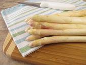 White asparagus — Stock Photo