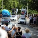 Advertising caravan of the tour de France 2013 — Stock Photo #28201047