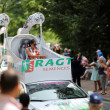 Advertising caravan of the tour de France 2013 — Stock Photo #28202021