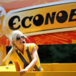 Advertising caravan of the tour de France 2013 — Stock Photo