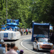 Advertising caravan of the tour de France 2013 — Stock Photo #28203207