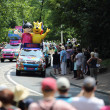 Advertising caravan of the tour de France 2013 — Stock Photo #28203637