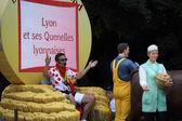 Carovana pubblicitaria del tour de france 2013 — Foto Stock