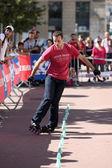 Lugdunum roller contest 2013 — Stock Photo