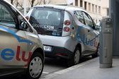 Bluely, condivisione di auto elettrica — Foto Stock