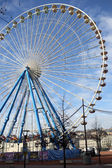 Ferris wheel at Lyon — Stock Photo