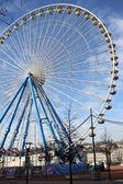 Ferris wheel at Lyon — Stock Photo