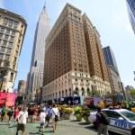 在纽约城的先驱广场 — 图库照片
