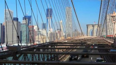 Brooklyn Bridge — Vídeo de stock