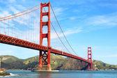 Golden gate-bron — Stockfoto