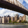 NYC Queensboro Bridge panorama — Stock Photo #18626335
