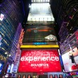 Times Square advertising — Stock Photo