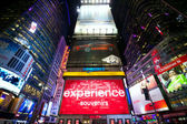 Times Square advertising — Foto Stock