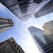 Stock Photo: NYC looking up