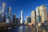 Chicago nehri — Stok fotoğraf