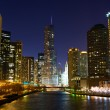 Chicago River — Foto de Stock