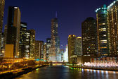 Chicago River — Stock Photo