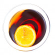 Foto Stock: Red Martini