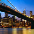 Manhattan panorama — Stock Photo
