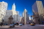 Magnificent Mile in Chicago — Stock Photo