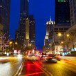 Magnificent Mile Traffic — Stock Photo