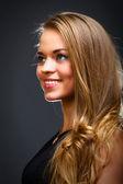 Smilling girl portrait — Stock Photo