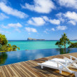 Tropical relax in Mauritius — Stock Photo