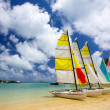 Mauritius beach — Stock Photo