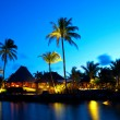Luxury sunset in Mauritius — Stock Photo