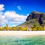 Mauritius beach panorama — Stock Photo #35873479