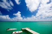 Jetty in Mauritius — Stock Photo