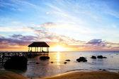 Sunset in Mauritius — Stock Photo