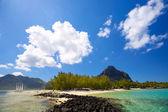 Mauritius coastline — Stock Photo