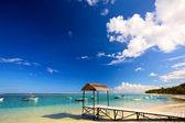 Mauritius beach — Stock Photo
