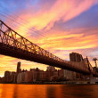 NYC Queensboro Bridge — Stock Photo