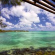 Mauritius coastline — Stock Photo