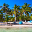 panorama de praia tropical — Foto Stock